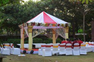 Outdoor Wedding venue Decor