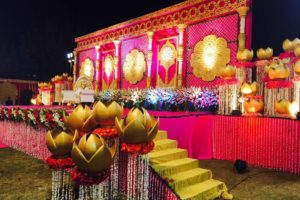 Wedding Stage & Venue Decoration